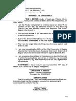 5. Affidavit of Desistance.docx