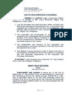 15. Affidavit of Non-Operation of Business.docx