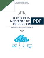 Tecnologias Modernas de La Produccion