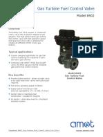 Datasheet 8402 Gas Turbine Fuel Control Valve 0111 Rev1