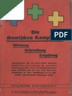 Die Chemischen Kampfstoffe - Otto Muntsch