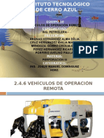 Rov (Vehículo de Operación Remota)