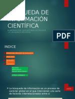 Búsqueda de Información Científica