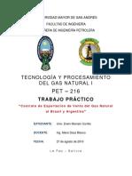 Contrato de Exportación de Venta Del Gas Natural Al Brasil y Argentina