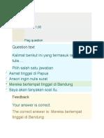 Tes Sumatif Bahasa Indonesia