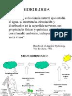 Ciclo Hidrol y Cuenca