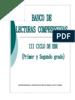 Banco de Lecturas-octubre