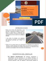 Introducción y Clasificación Del Drenaje