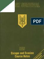 Combat Survival SAS Escape and Evasion Course Notes
