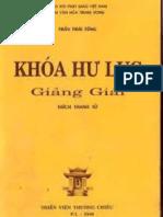 Khoá Hư Lục - Trần Thái Tông