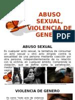 Abuso Sexual y Violencia de Genero