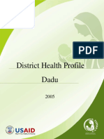 District Health Profile Dadu