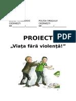 VIATA FARA VIOLENTA- PROIECT.docx