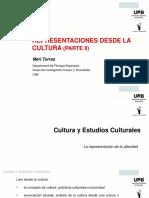 Representaciones de La Cultura II