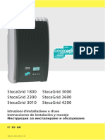StecaGrid 1800 4200 Manual IT ES BG