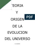 Teoria Origen Universo