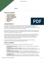 Guía Clínica de Linfangitis 2011
