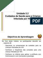 5.2 Avaliaç¦o da criança infectada pelo HIV_ Março 2015