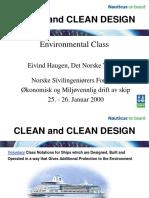 Dnv Clean vs Clean Design