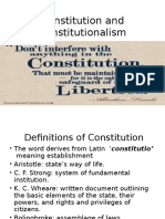 8 Constitution and Constitutionalism