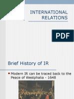 18 International Relations