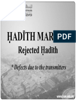 RKQS 2021 Fabrication of Hadith PPT