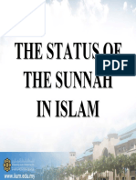 RKQS 2021 Status of Sunnah in Islam PPT