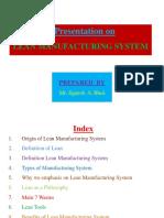 Lean Manufacturing System by Jignesh A. Bhoi