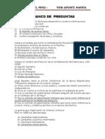 Preguntas Hist. Perú