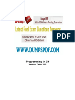 Free 70 483 Exam Questions PDF Microsoft1