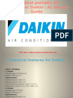 Best Daikin portable Air conditioner | AC buying guide