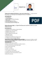 Rahat Resume Fmcg (1)