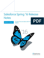 Salesforce Spring16 Release Notes