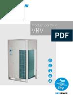 VRV Product Portfolio ECPEN16-201 Catalogues English