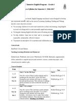 P4 Syllabus 2016 - 2017 - Semester 2