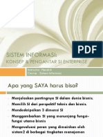 Sistem Informasi Dan Komponennya