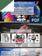 Presentation Tinplate,Eccs,Aluminium