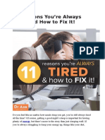 11 Reasons You May Be Always Tired — and Natural Treatments.docx