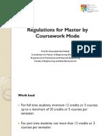 Coursework Regulations