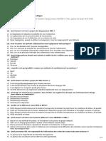 Qcm développement Informatique