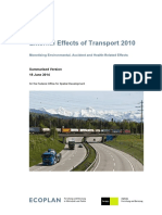 External Effects of Transport
