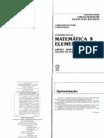 Fundamentos Da Matematica Elementar - Livro Do Professor - Volume 08
