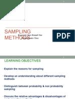 Module 4 Sampling PG Class