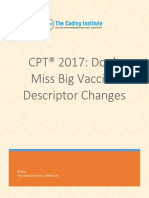 CPT 2017 Dont Miss Big Vaccine Descriptor Changes