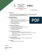 Accomplishment Report June 2016