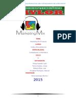 Monografia Marketing Mix(Producto)