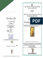 2016 -16 Nov - St Matthew Levi- Festal Matins & Div Lit Hymns