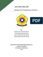 Bagaimana Membangun Paradigma Qurani