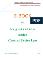 Ecentral Excise Registration
