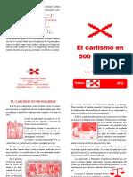 Folletos CTC Nº 5. El Carlismo en 500 Palabras. Formato para imprimir